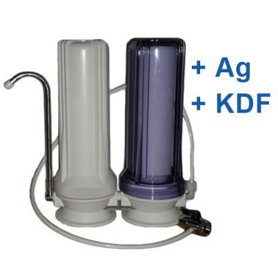 CleanLife Duo Silver asztali víztisztító (+Ezüst+KDF)