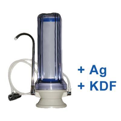 CleanLife Silver asztali víztisztító GAC (+Ezüst+KDF)