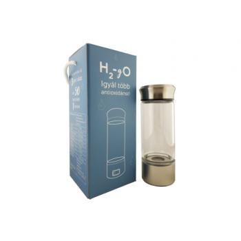 H2-gO hidrogénes vizet készítő, hordozható palack