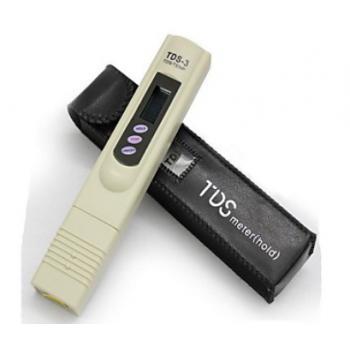 TDS-3 TDS mérő műszer bőrtokban