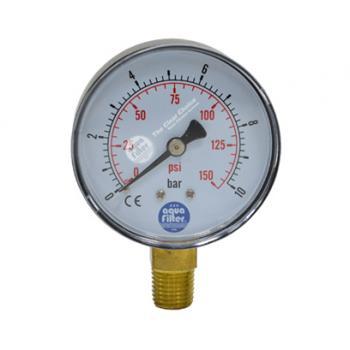 """Nyomásmérő óra 0-10 bar, 1/4"""""""