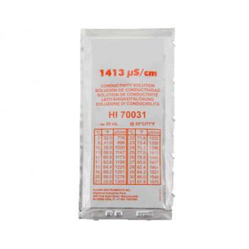 Kalibráló folyadék EC mérő műszerhez, µS/cm 1.413 20ml