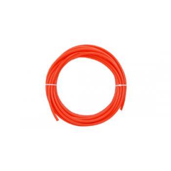 """Műanyag csővezeték, 1/4"""" (PE), PIROS (m)"""