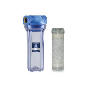 """Polifoszfát kristályos vízlágyító (szűrőház+kaniszter+töltet) 1"""""""