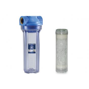 """Polifoszfát kristályos vízlágyító (szűrőház 1/2""""+kaniszter+töltet)"""
